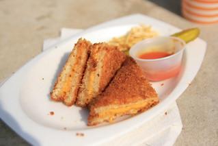 Deep Fried Grilled Cheese Sandwich Ben Flickr