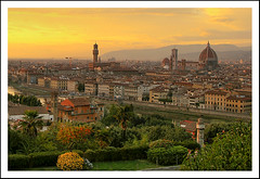 Sunset over Florence | by stevehdc