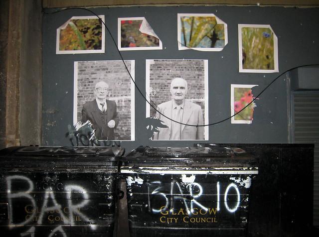 Glasgow, back alley