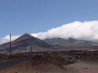 Ascension Island-Green Mt and Two Sisters from Comfortless Cove road | by Drew Avery