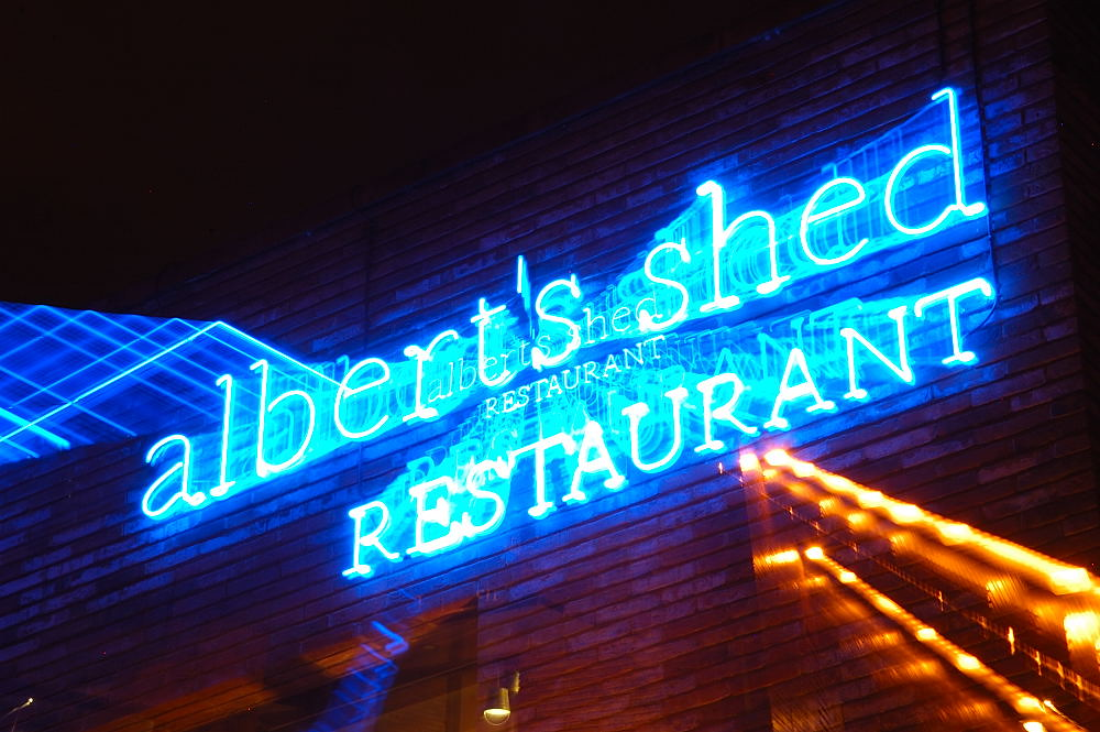 Albert's Shed Sign Manchester