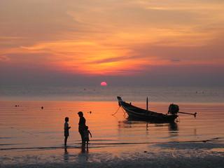 Koh Tao sunset | by Kradlum
