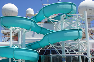 Waterslide on Carnival Conquest | by Calgary Reviews