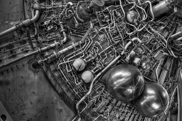 Complex Pipework, Saturn V, 3rd Stage