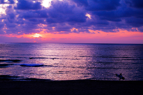 sunset sea pentax k7 hdda55300 夕日が浦