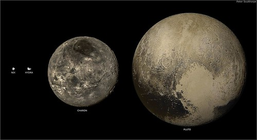Hydra Moon: Moons: Nix, Hydra, Charon & The Dwarf Planet Pluto