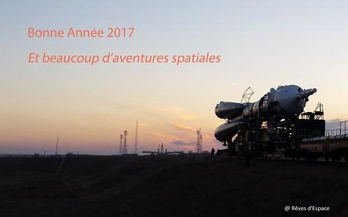 bonne année 2017   by rêves d espace