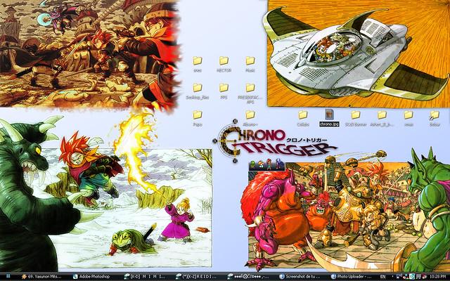 Chrono Trigger Wallpaper Ct Wallpaper So So Flickr