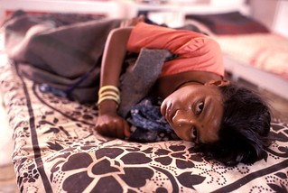 Woman with AIDS in hospital. India | by World Bank Photo Collection