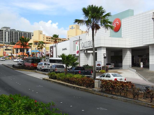 DFSギャラリア DFS Galleria Guam