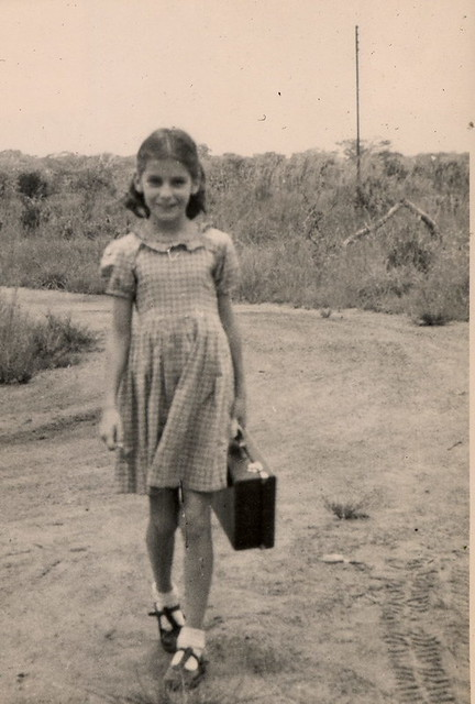 Unknown Pretty Girl, Urambo Tanganyika (Tanzania)1952 :Now Identified as Margaret MacDonald.
