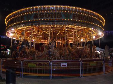 Christmas Fun Fair in Leicester Square