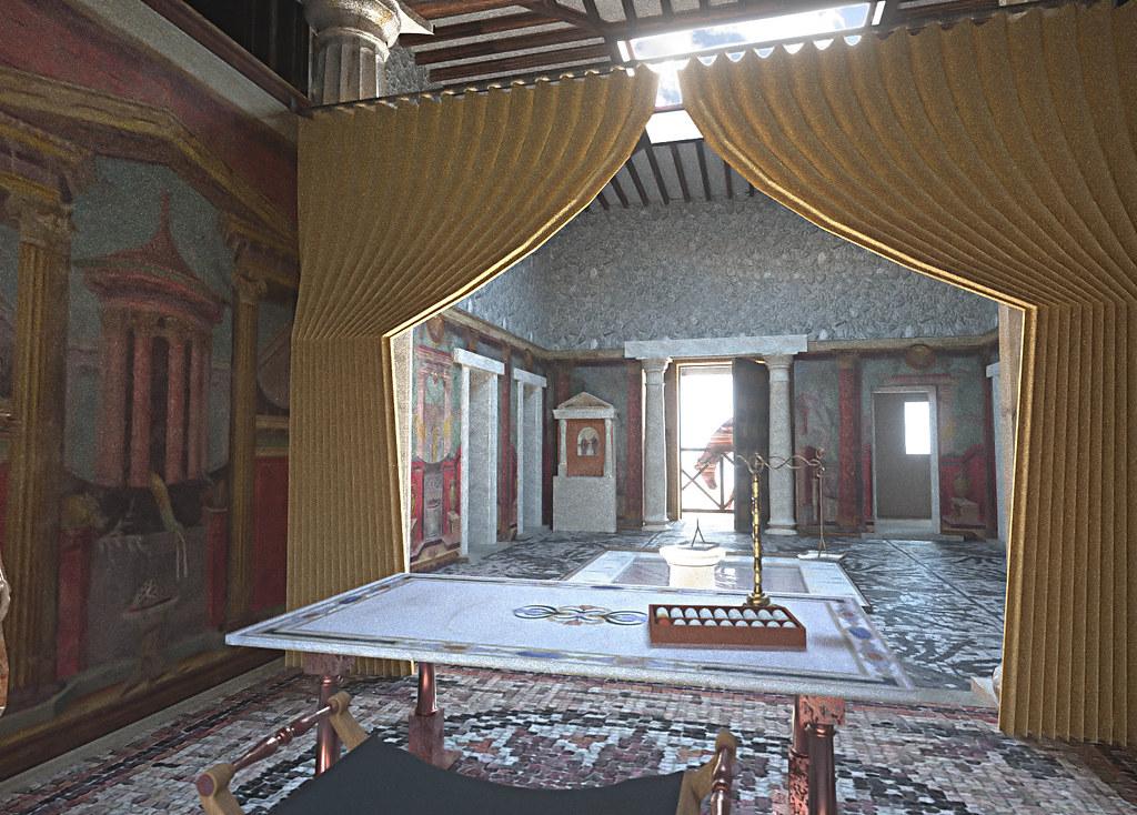 Roman tablinum