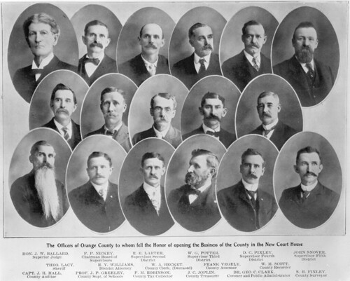 Orange County officials, 1901 | by Orange County Archives