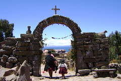 Arch at Taquile