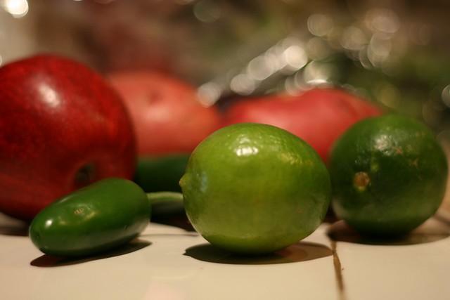 citrus plus spice plus fruit = yum!