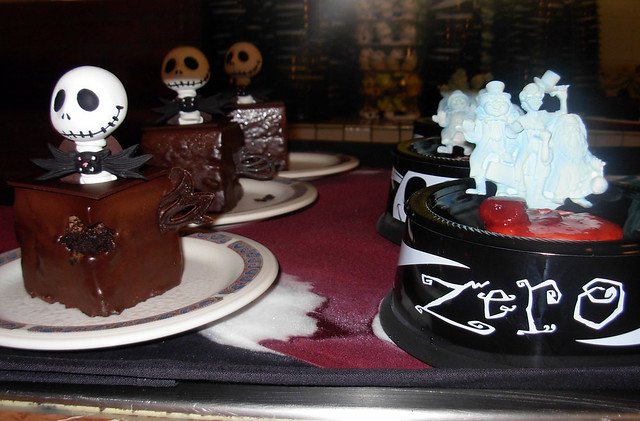 Haunted Mansion & Nightmare Before Christmas Desserts