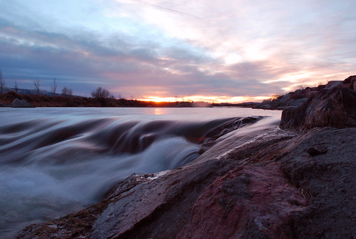 sunset river nikon casper kenny ainsworth d60 northplatteriver nikond60 riversunset casperwy flickrchallengewinner thechallengefactory kennyainsworth wyomingphotographers