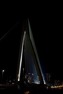 Erasmusbridge, Rotterdam | by Martijn A.C. Snels