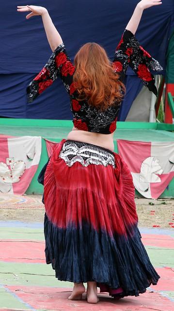 Oksana twirling