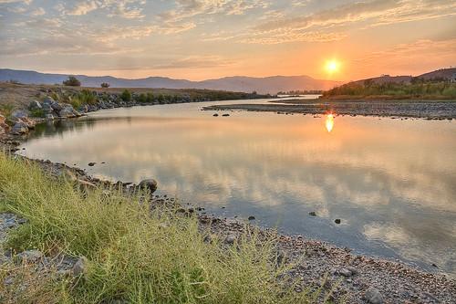 Sunset, Lake Elsinore   by Jim Sneddon