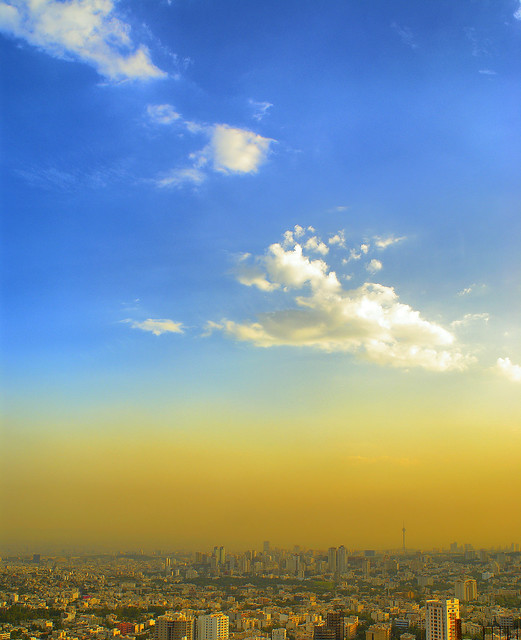 Tehran under the Blue Sky, Tehran, Iran (Persia)