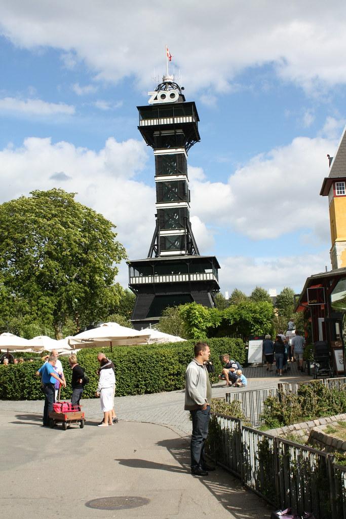 Copenhagen Zoo Tower The Tower In The Zoo In Copenhagen Lars K Jensen Flickr