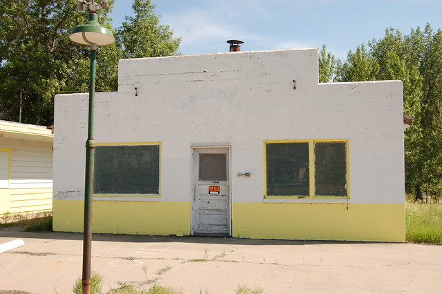 Former Gas Station, Then Arcade