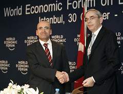 Mehmet Şimşek, Thomas Mirow - World Economic Forum Turkey 2008 | by World Economic Forum
