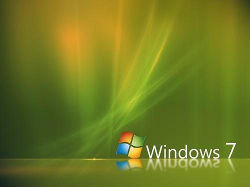 Windows 7 Aurora Green Wallpaper   by Alan Dean
