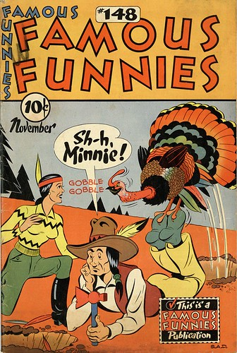 Famous Funnies 148   by senses working overtime