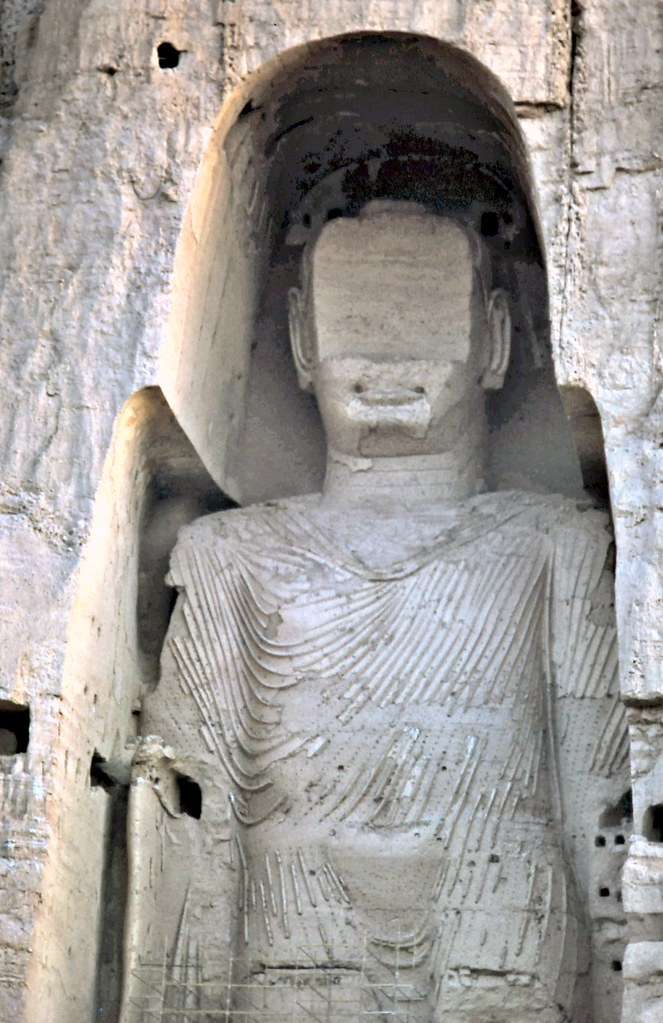 gm_03103 Bamiyan Buddha Statue, Afghanistan 1975   One of th