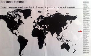 CAMPUS 1999 - La mappa dei 28 centri nel mondo dove il futuro è di casa