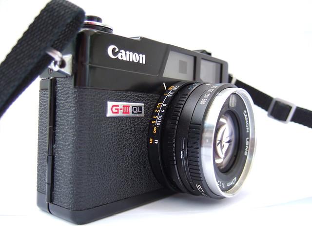 Canonet QL-17 G-III black