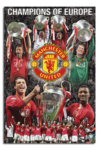 0060 Manchester United Europe Champions League Winners 200