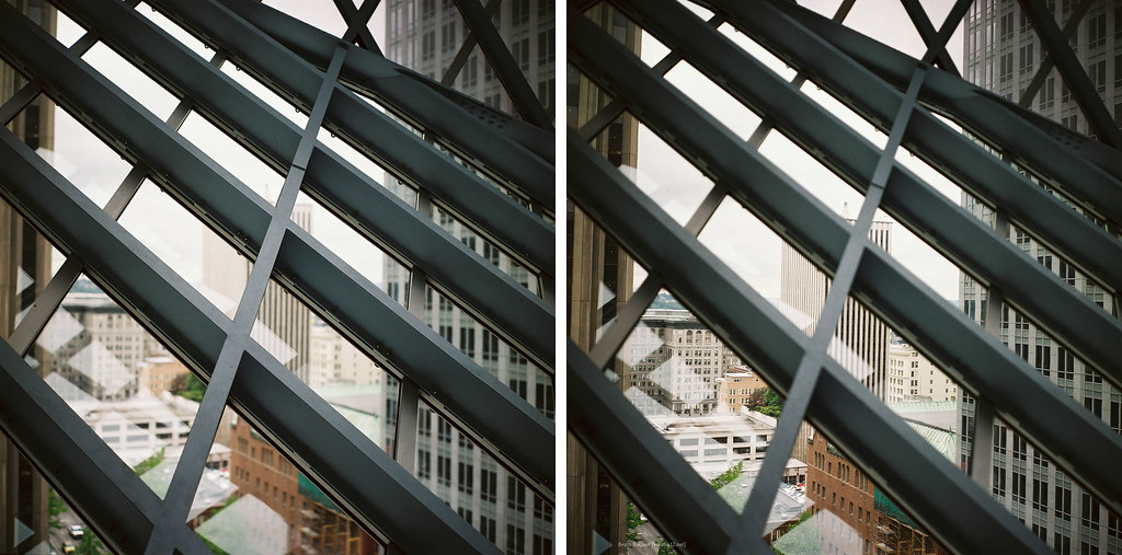 Seattle Public Library - diptych by bruno tessa