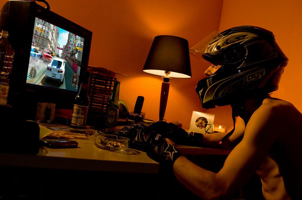Фанат видеоигр Codemasters