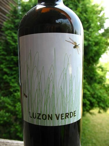 Wine label: Luzon Verde | by Vilseskogen
