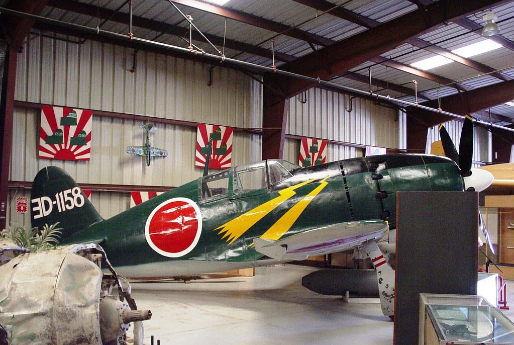 MItsubishi J2M Raiden (Jack) Right Side Planes of Fame Chino, California
