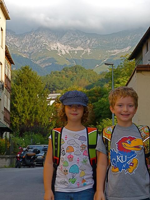 Innsbruck, Austria kids