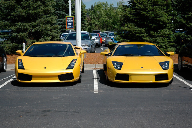 Gallardo Vs Murcielago Mark Potter Flickr