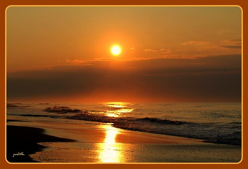 ocean sea beach nature clouds sunrise newjersey waves wildwood