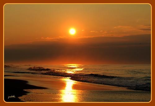 ocean sea beach nature clouds sunrise newjersey waves wildwood