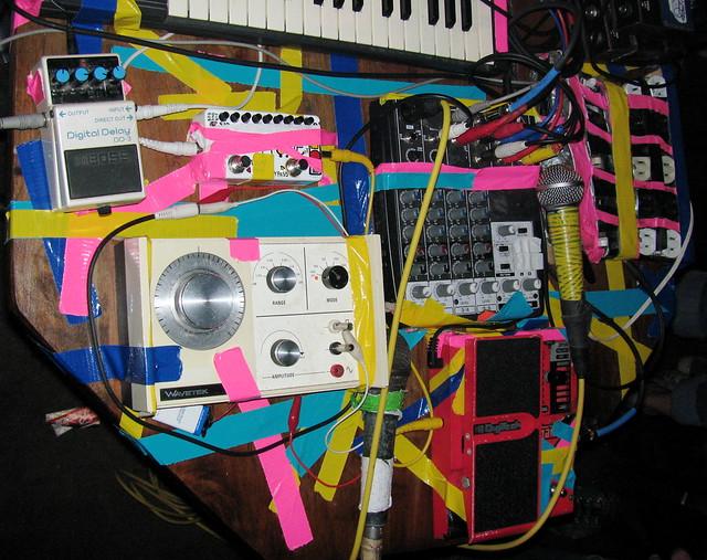 Dan Deacon's Equipment