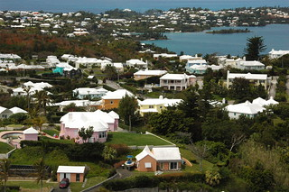 The multi-colored houses and clean white roofs of Bermuda | by agperson