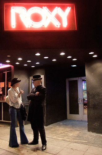 Roxy Music: Courtney Love & Alan McGee Do The Strand   by bp fallon