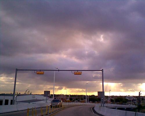 color clouds digital sunrise concrete nokia texas phone cell houston barrier 5300 hov sjalexander sjalex sjalex76 stephenjalexander