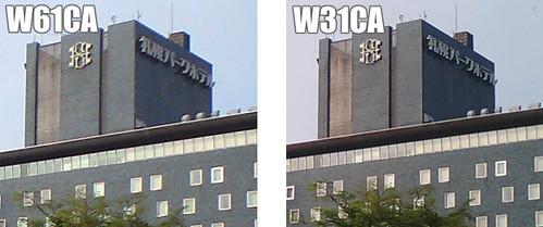 W31CA vs W61CA