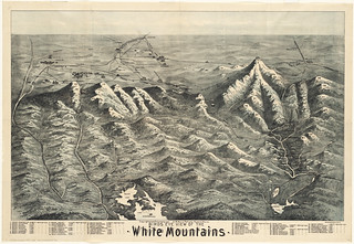 Birds eye view of the White Mountains | by Norman B. Leventhal Map Center at the BPL