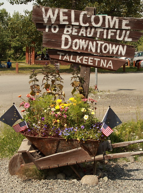 Welcome to beautiful downtown Talkeetna!
